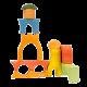 Детские развивающие конструкторы и кубики из дерева в интернет-магазине Клёник.