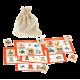 Деревянное лото, домино, настольные и другие игры из дерева