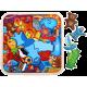 Деревянные детские пазлы, головоломки и мозаики из фанеры и массива дерева