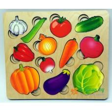 """Доска """"Разрезные овощи"""""""