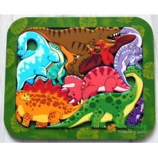 """Зоопазл """"Динозавры"""""""
