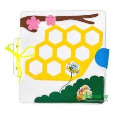 Путешествие пчелки(фетр)